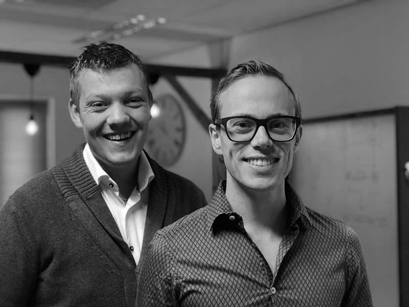 Oprichters Jasper Berkhout & Patrick van Haren